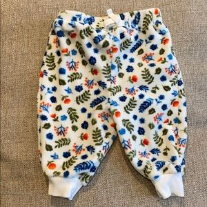 Gymboree infant velour pants